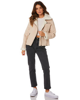FAWN WOMENS CLOTHING ALL ABOUT EVE JACKETS - 6433053SAN