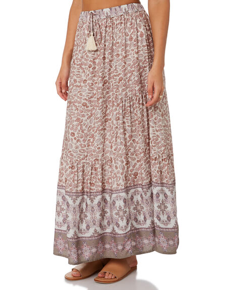 LEOPARD MULTI WOMENS CLOTHING O'NEILL SKIRTS - 6421615LPM