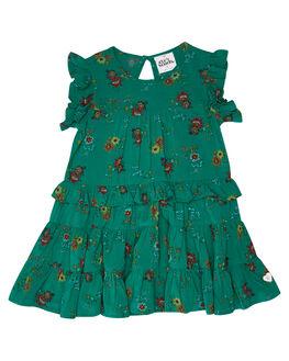 SPRING FLORAL PRINT KIDS GIRLS EVES SISTER DRESSES + PLAYSUITS - 8044033SPRFL
