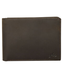 NOIR MENS ACCESSORIES RUSTY WALLETS - WAM0506NOI