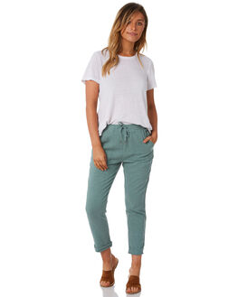 SEA FOAM WOMENS CLOTHING RUSTY PANTS - PAL0994SEF