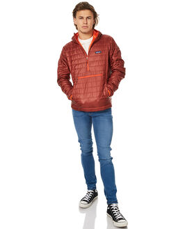CINDER RED MENS CLOTHING PATAGONIA JACKETS - 84186CDRR