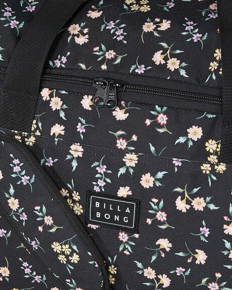 BLACK/BLACK WOMENS ACCESSORIES BILLABONG BAGS + BACKPACKS - BB-6604254-BLL