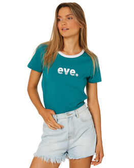 GREEN WOMENS CLOTHING ALL ABOUT EVE TEES - 6415012GRN