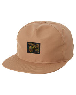 DULL GOLD MENS ACCESSORIES VOLCOM HEADWEAR - D5531905DUL