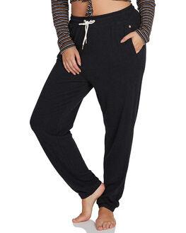 BLACK WOMENS CLOTHING VOLCOM PANTS - B1111801PBLK