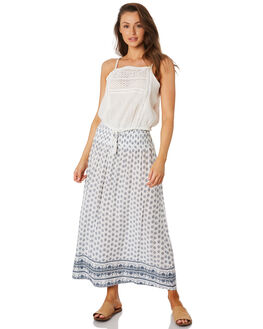 WHITE WOMENS CLOTHING RIP CURL SKIRTS - GSKDJ11000