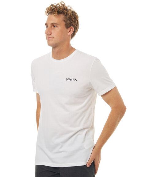WHITE MENS CLOTHING QUIKSILVER TEES - EQYZT04662WBB0