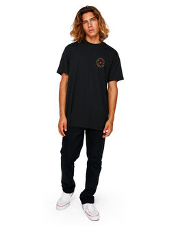 BLACK MENS CLOTHING BILLABONG TEES - BB-9591031-BLK