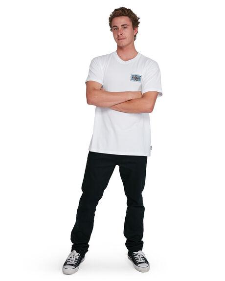 WHITE MENS CLOTHING BILLABONG TEES - BB-9503034-WHT