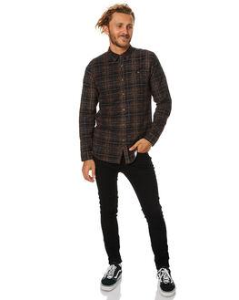 CAMEL MENS CLOTHING RUSTY SHIRTS - WSM0784CAM