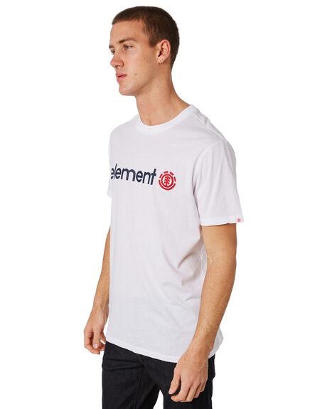 OPTIC WHITE MENS CLOTHING ELEMENT TEES - 183001OWHT