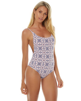 STEEL WOMENS SWIMWEAR RHYTHM ONE PIECES - JAN17G-SW06STL