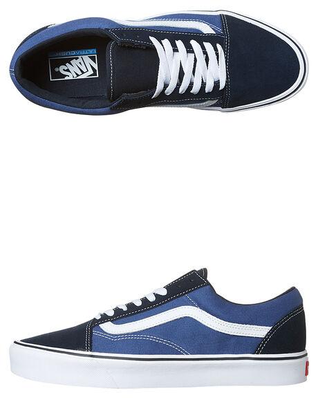 e88bcf4037 Vans Mens Old Skool Lite Dx Suede Shoe - Navy White