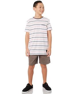 DARK GREY KIDS BOYS RIP CURL SHORTS - KWALC11221