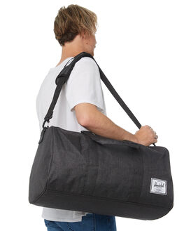 BLACK CROSSHATCH MENS ACCESSORIES HERSCHEL SUPPLY CO BAGS + BACKPACKS - 10026-02090-OSBLKXH