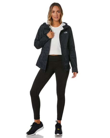 BLACK WOMENS CLOTHING THE NORTH FACE JACKETS - NF0A2VCRKX7TNF
