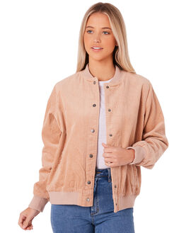 TAN WOMENS CLOTHING ALL ABOUT EVE JACKETS - 6414033TAN