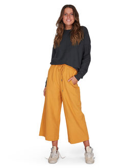 HONEY GOLD WOMENS CLOTHING BILLABONG PANTS - BB-6595741-HOG