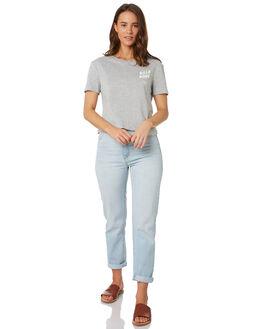 GREY MARLE WOMENS CLOTHING BILLABONG TEES - 6595008GYM