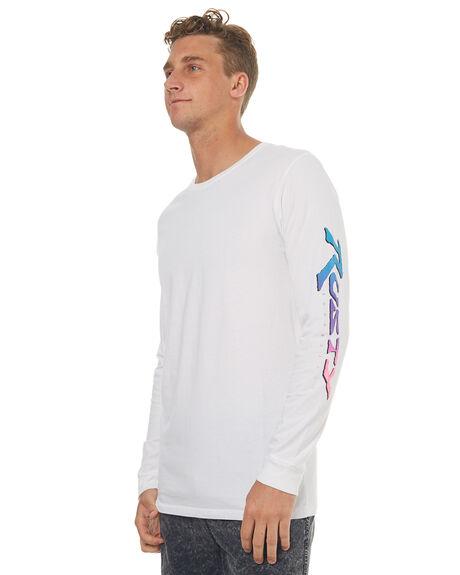 WHITE MENS CLOTHING RUSTY TEES - TTM1899WHT