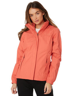 SPICED CORAL WOMENS CLOTHING THE NORTH FACE JACKETS - NF0A2VCUHEY