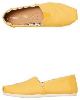 GOLD FUSION WOMENS FOOTWEAR TOMS SLIP ONS - 10013872GFSN