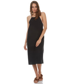 BLACK WOMENS CLOTHING ELWOOD DRESSES - W73704BLK