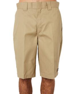 KHAKI MENS CLOTHING DICKIES SHORTS - K3130803KHA