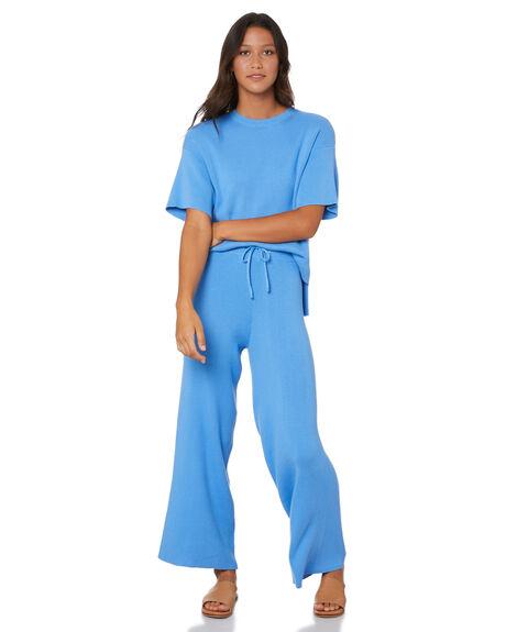 BLUE WOMENS CLOTHING SNDYS PANTS - SEP036BLU