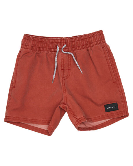 RED DIRT KIDS BOYS RIP CURL BOARDSHORTS - OBOCY98007