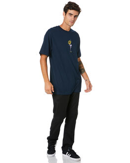 NAVY MENS CLOTHING PASS PORT TEES - PPFLORALTEENVY