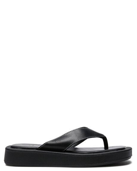 BLACK WOMENS FOOTWEAR ST SANA FASHION SANDALS - ST211S324BLK