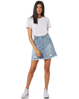 VINTAGE BLUE WOMENS CLOTHING MINKPINK SKIRTS - MD1710930VINBL