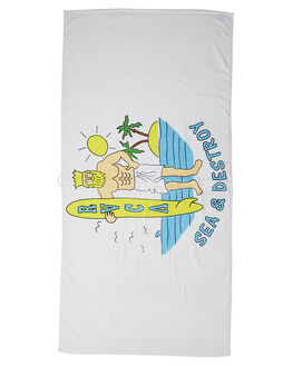 WHITE ACCESSORIES TOWELS RVCA  - R162542AWHI