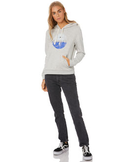 GREY HEATHER WOMENS CLOTHING HURLEY JUMPERS - CT4714050