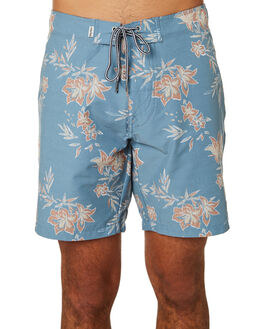 PACIFIC BLUE MENS CLOTHING RHYTHM BOARDSHORTS - JAN19M-TR08-BLU