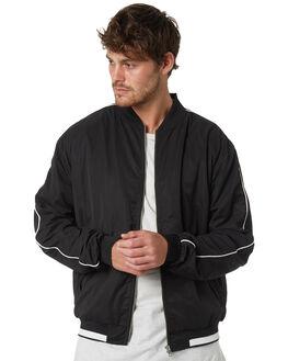 BLACK MENS CLOTHING ZANEROBE JACKETS - 501-VERBLK
