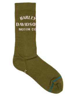 OLIVE MENS CLOTHING STANCE SOCKS + UNDERWEAR - A556A20HAMOLV