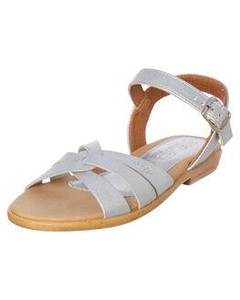SILVER KIDS GIRLS ROC BOOTS AUSTRALIA FOOTWEAR - PIPERSIL