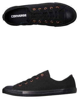 BLACK WOMENS FOOTWEAR CONVERSE SNEAKERS - 557967BLACK