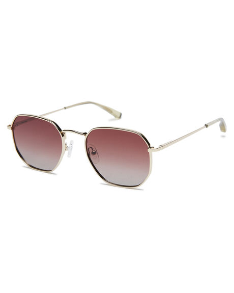 POLISHED GOLD MENS ACCESSORIES LOCAL SUPPLY SUNGLASSES - DXBPGLD