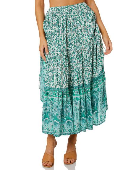 GREEN WOMENS CLOTHING SHAREEN SKIRTS - MS01120GRN