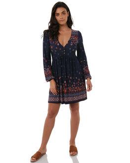 INDIGO WOMENS CLOTHING TIGERLILY DRESSES - T383423INDI