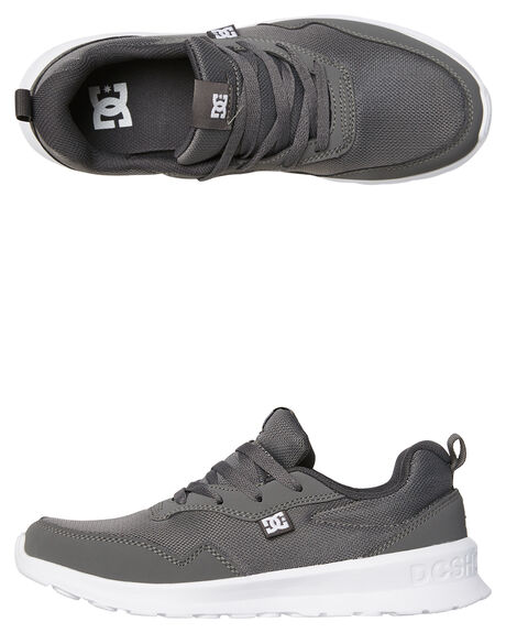 GREY WHITE MENS FOOTWEAR DC SHOES SNEAKERS - ADYS700140GRW
