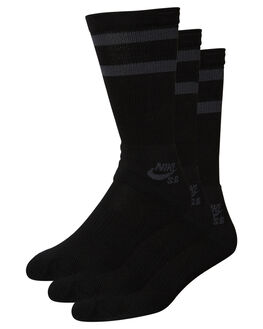 BLACK ANTHRACITE MENS CLOTHING NIKE SOCKS + UNDERWEAR - SX5760010
