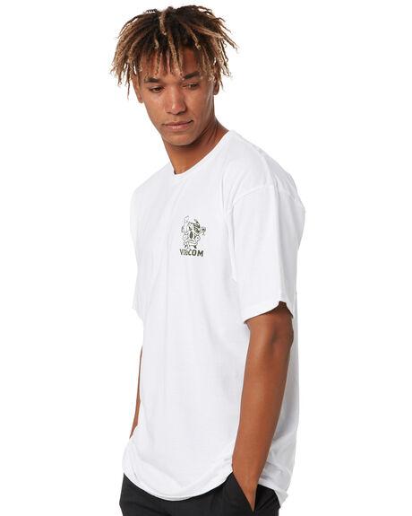 WHITE MENS CLOTHING VOLCOM TEES - A3532005WHT