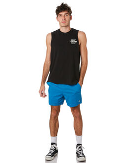 DEEP BLUE MENS CLOTHING DEUS EX MACHINA BOARDSHORTS - DMP92147ADPBLU