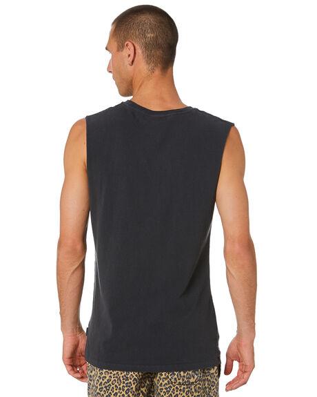 BLACK MENS CLOTHING INSIGHT SINGLETS - 1000088999BLK