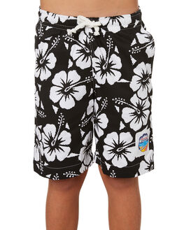 BLACK KIDS BOYS OKANUI SHORTS - BBHBBL